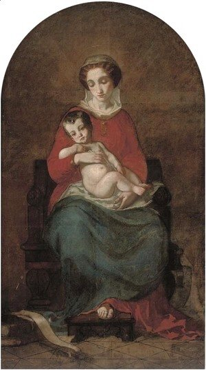 Raphael - Madonna and child 2
