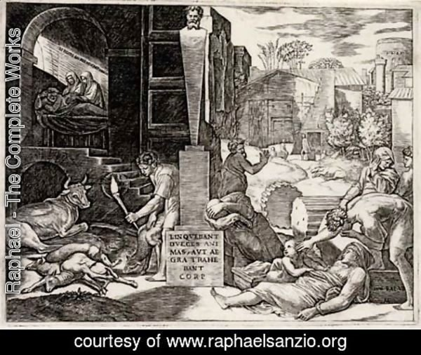 Raphael - The Plague ('The Morbetto')
