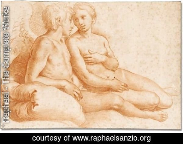 Raphael - Cupid and Pysche