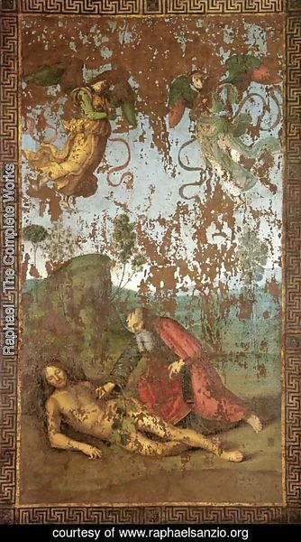 Raphael - The Creation of Eve from Adam