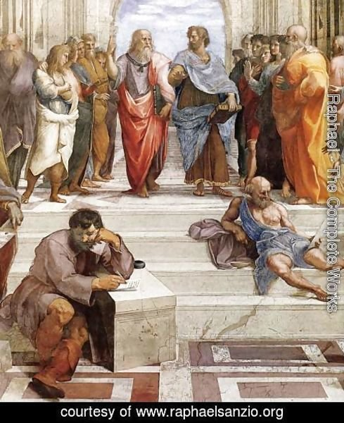 Raphael - The School of Athens (detail) 2