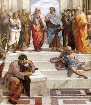 The School of Athens (detail) 2