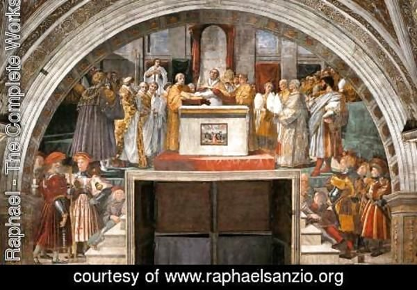 Raphael - The Oath of Leo III