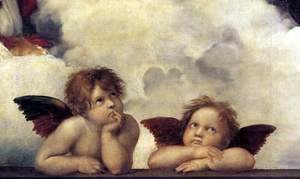 Raphael - The Sistine Madonna (detail) 2