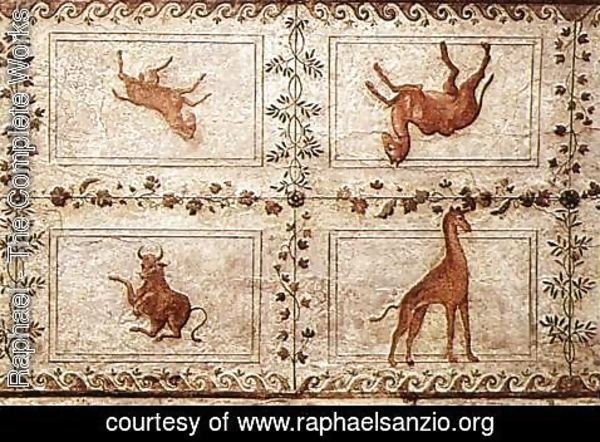 Raphael - Decoration of the Loggetta 2