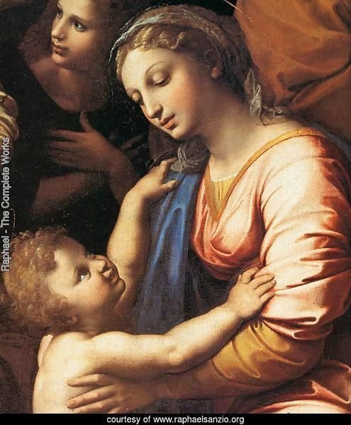 The Holy Family (detail)