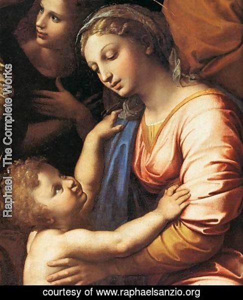 Raphael - The Holy Family (detail)