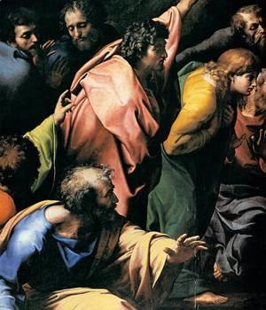 Raphael - The Transfiguration (detail) 2