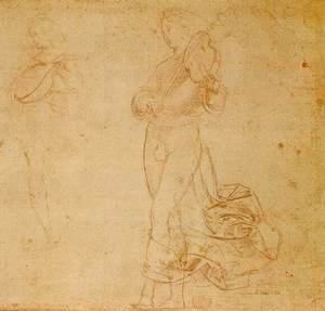 Raphael - Study of an Angel