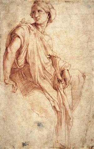 Study of a Sibyl (recto)