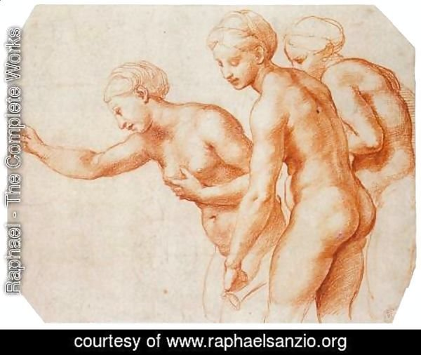 Raphael - Study for the Three Graces