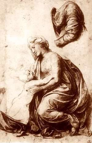 Study for the Holy Family