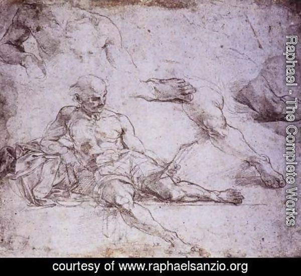 Raphael - Study of Diogenes for the School of Athens