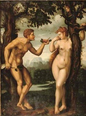 Raphael - The Temptation of Adam and Eve