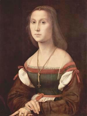 Raphael - Portraits of a Lady (The Mute)