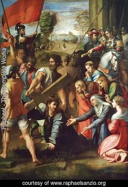 Raphael - Christ carrying the Cross
