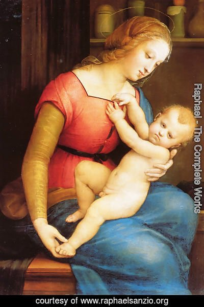 Raphael - The Virgin of the House of Orleans