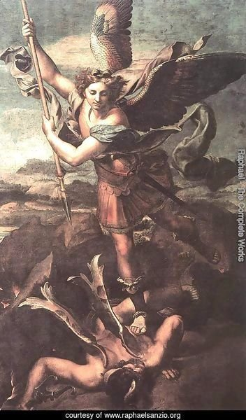St. Michael Overwhelming the Demon