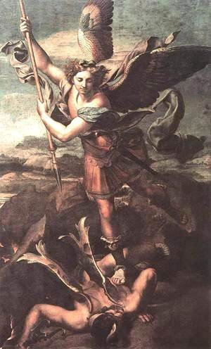 Raphael - St. Michael Overwhelming the Demon