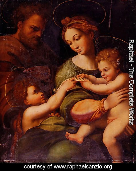 Raphael - The Virgin of the Rose