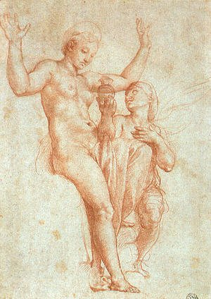 Raphael - Psyche Offering Venus The Water Of Styx