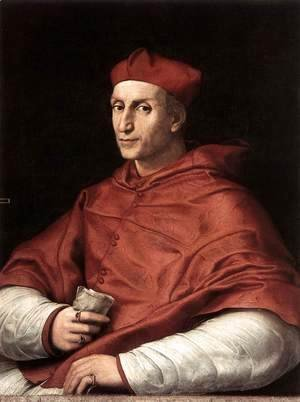 Raphael - Portrait Of Cardinal Bibbiena