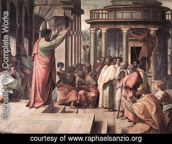 Raphael - St Paul Preaching In Athens