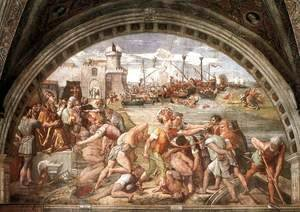 Raphael - The Battle Of Ostia