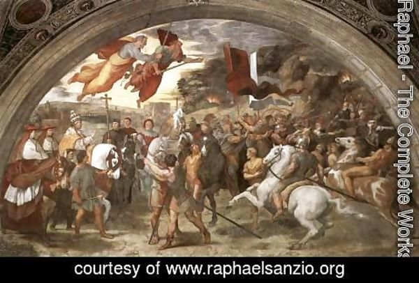 Raphael - The Meeting Between Leo The Great And Attila