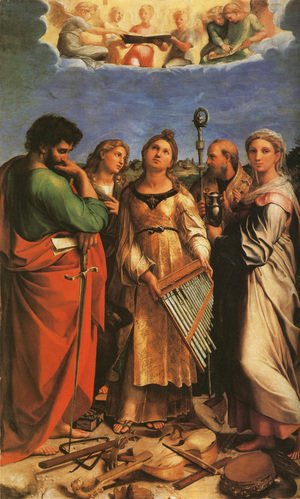 Raphael - The Saint Cecilia Altarpiece