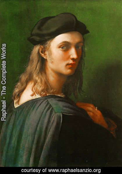 Raphael - Portrait Of Bindo Altoviti 1515