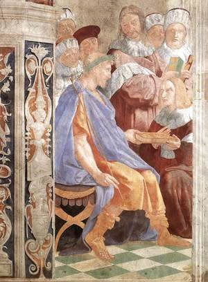 Raphael - Justinian Presenting The Pandects To Trebonianus