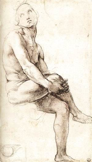 Raphael - Study For Adam