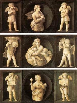 Raphael - Theological Virtues