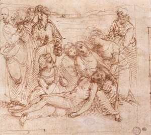 Raphael - Lamentation Over The Dead Christ