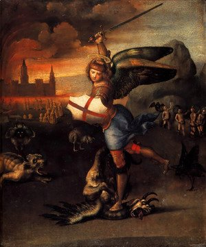 Raphael - Saint Michael And The Dragon