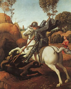 Raphael - St. George and the Dragon 1504-06