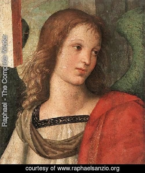 Raphael - Angel Fragment Of The Baronci Altarpiece