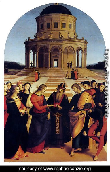 Raphael - Marriage Of The Virgin