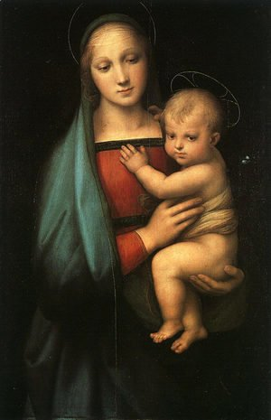 Raphael - Madonna & Child (Madonna del Granduca) 1505